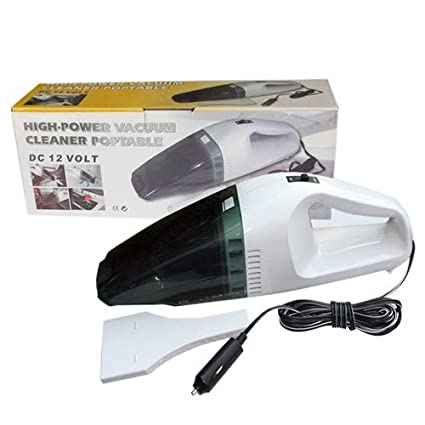 Cpixen 12V Mini Wet and Dry Handheld Portable Lightweight Car Vacuum Cleaner