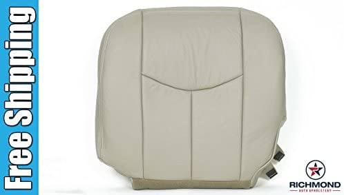 Amazon.com: 2004 Chevy Suburban 1500 LT LS Driver Side Bottom Replacement Leather Seat Cover, Tan: Automotive