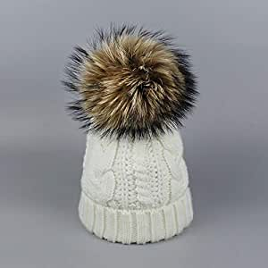 Amazon.com: HOKUGA: 3 winter hat- fur winter hat- nike