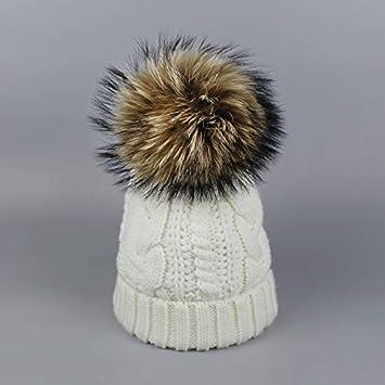 4bd87b96ecb Amazon.com  HOKUGA  3 winter hat- fur winter hat- nike winter hats ...