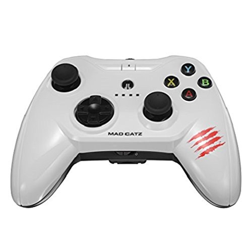 Price comparison product image Apple Certified Mad Catz C.T.R.L.i Mobile Gamepad and Game Controller Mfi Made for Apple TV,  iPhone,  and iPad - White