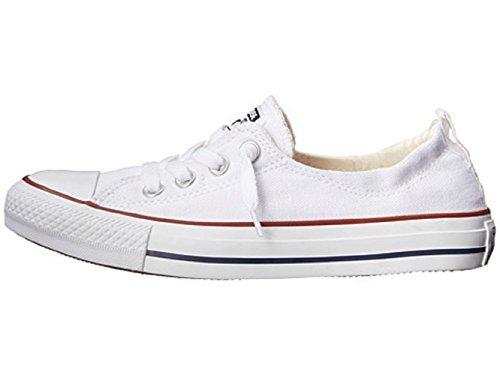 Converse Womens Chuck Taylor Shoreline Slip On Fashion Sneaker (8 (WOMEN) US, WHITE) by Converse (Image #2)