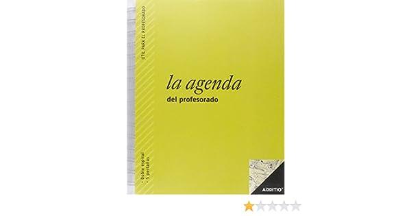 Ingraf P212 - Agenda profesor polipropileno SV castellano