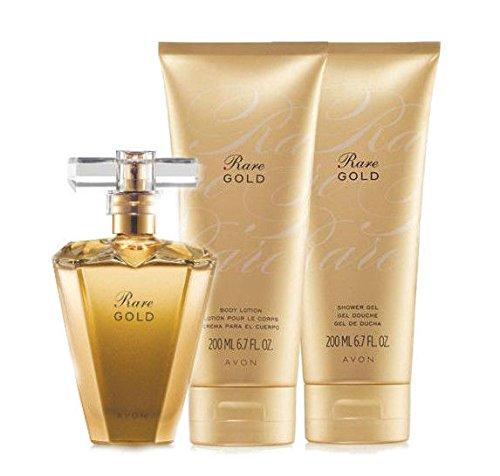 Rare Gold Perfume - Avon Rare Gold 3 pc. Collection