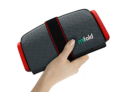 mifold grab-and-go car booster seat, Slate ()