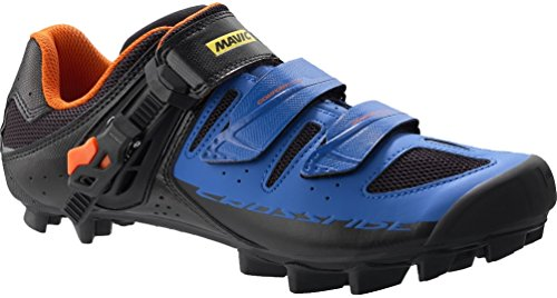 Mavic Crossride SL Elite Shoe 6 Black/Blue/Orange