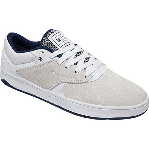 DC Männer Tiago S Skate Sneakers Weiß / Navy