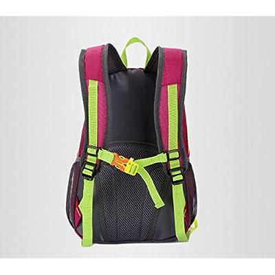 XIE@ Extérieur en nylon imperméable sport sac à dos les amateurs de grande capacité sac randonnée sac à dos sac à dos de randonnée , black