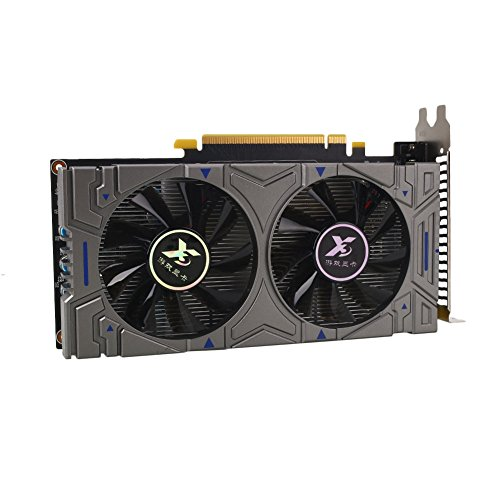 Cewaal GTX750TI 2GB 192bit GDDR5 Computer Gaming Video Graphic Card with Cooler Fan by Cewaal