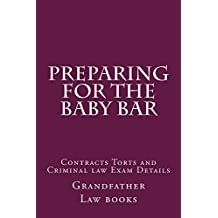Preparing For The Baby Bar: Direct exam prep help for law students