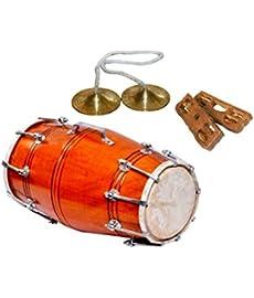 SG Musical - Nut Bolt Dholak Mazira and Khartal