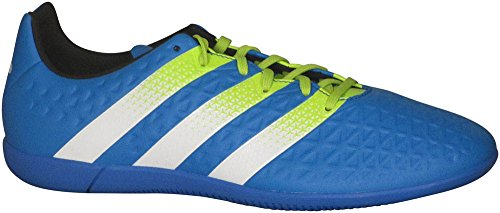 Adidas Performance Heren Ace 16.3 In Voetbalschoen Shock Blue / Solar Yellow / White