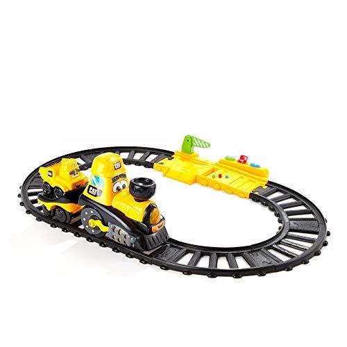 Cat Construction Power Track Friends Preschool Train Set