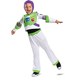 Boy's Disney Classic Toy Story 4 Buzz Lightyear Costume Exclusive Large 10-12