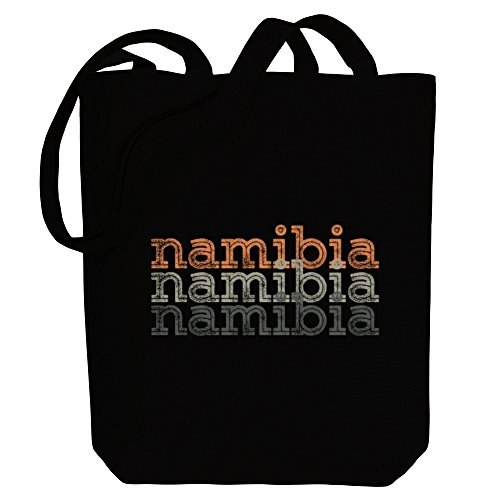 Countries Idakoos Namibia Canvas Idakoos Bag Tote retro repeat Namibia nOaXwqX