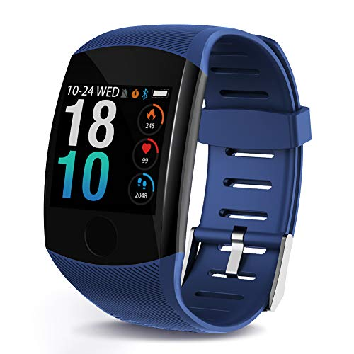 LEKOO Fitness Tracker - Activity Tracker with Step Counter - Waterproof SmartWatch with Heart Rate Monitor - Fit Watch Sleep Monitor Step Counter for Android & iPhone (Best Android Fitness Tracker)