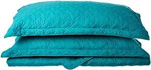 Solid Quilt Set Grey Bedding Set Bedspread Coverlet Gifts for Children Lightweight Hypoallergenic Microfiber by Bedsure