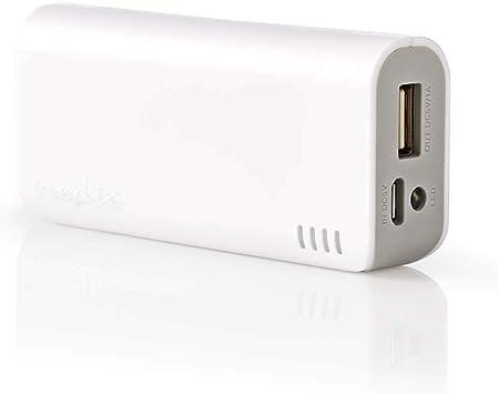 tronicxl Power Bank Batería 4000 mAh USB Externo para ...