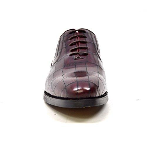 British Collection Phoenix Men Leather Dress Shoes Bordeaux RX1X2JN