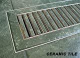 Chameleon 4''x12'' 3/8'' Thick Floor Vent Registers Matching Floor Tile Hardwood Laminate