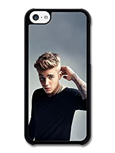 Justin Bieber Arm Tatoo Beliebers JB Popstar case for iPhone 5C