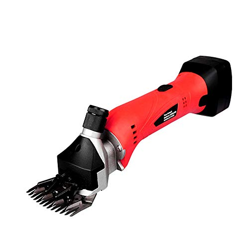 Gtest 500W Rechargeable Cordless Electric Sheep Shears Portable Goat Clippers 4000mAh Rechargeable, for Shaving Fur Wool in Alpacas,Llamas and Other Farm Livestock Pet,US110V
