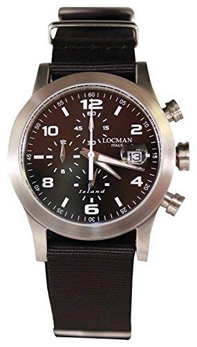 LOCMAN watch ISLAND 0618A01-00BKWHNK Men's