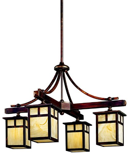 Kichler 49091CV Alameda Indoor/Outdoor Chandelier