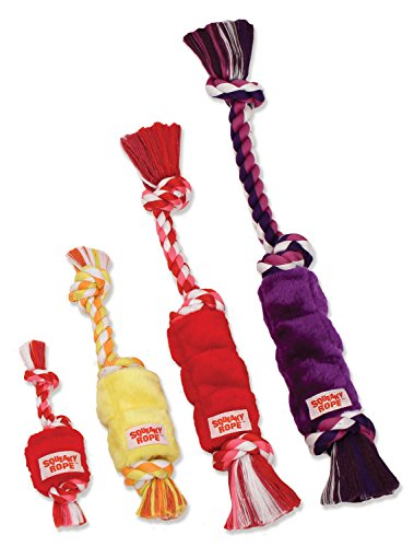 Flossy Chews Squeaky Rope Plush, Mini, 9-Inch