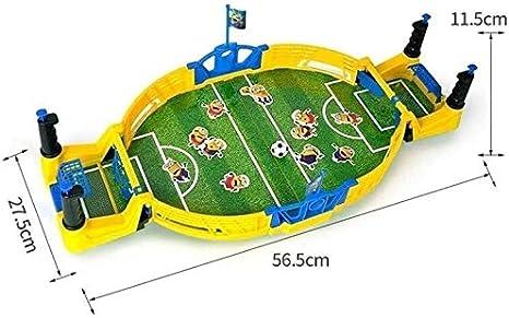 KJRJSF Fútbol de mesa, fútbol Juego de fútbol conjunto de juguete, niños mesa de escritorio de fútbol, fútbol Foosball Mini Juego de Mesa, regalos Doble regalo Tabla hijos adultos juegos for niños