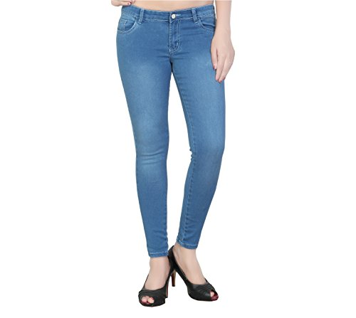 Fashion205 Channel F Bluetint Ankle Length Women #39;s Jeans