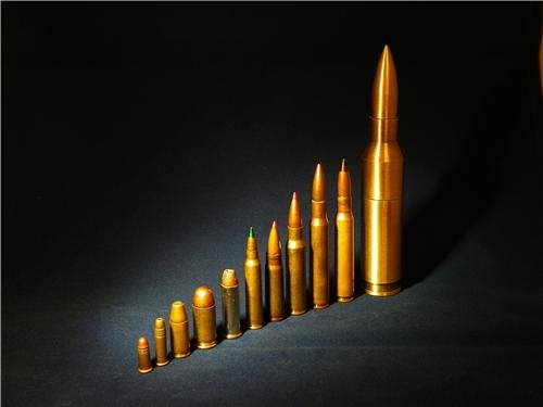 Ammunition Glossy Poster Picture Photo ammo bullets shells clips guns rifles