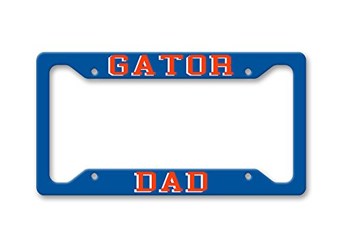 The Turnip Seed Co Gator Dad - UF Colors - License Plate Frame LP1496 (Gator Dad License)