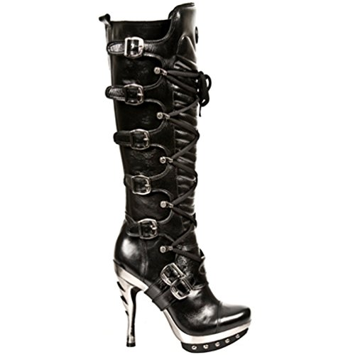 Black Rock NR NEWROCK Womens S1 M PUNK005 Boots New zCTqBw