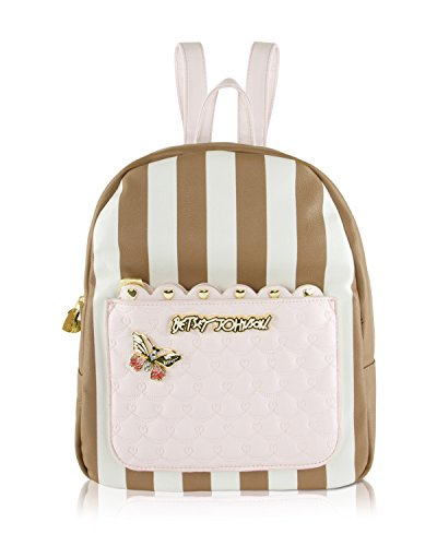 Betsey Johnson Removable Pouch Backpack, Spice