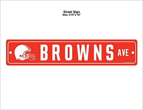 Wincraft NFL Cleveland Browns Street Sign ()