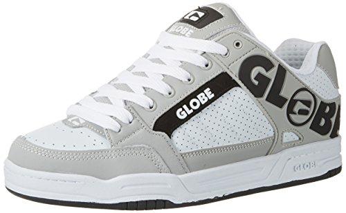 Globe Tilt, Chaussures de Skateboard Homme, Blanc (White/Grey/Black), 40.5 EU