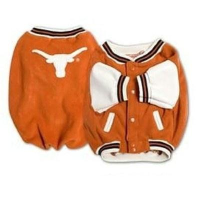 (Pet Care Preferred Texas Longhorns Varsity Dog Jacket - Large)