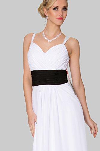 Figura a damigelle d'onore da EDJ1670 SEXYHER convenzionale scollo intera V con Scollo spalline vestito sera fXdHwZ