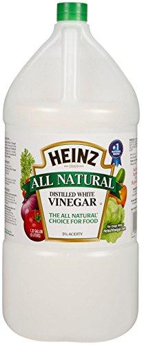 - Heinz White Vinegar Distilled 1.32 gallons (169 oz)