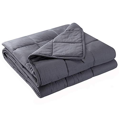 Anjee Weighted Blanket 20lbs for 150-200 lbs Adults and Kids review
