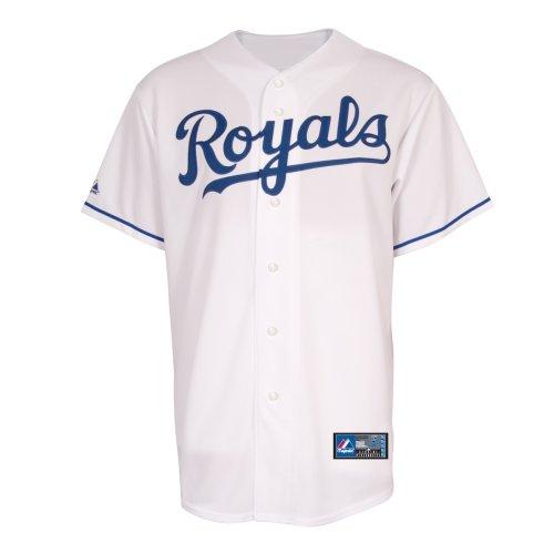 - MLB Kansas City Royals Home Replica Jersey, White, X-Large