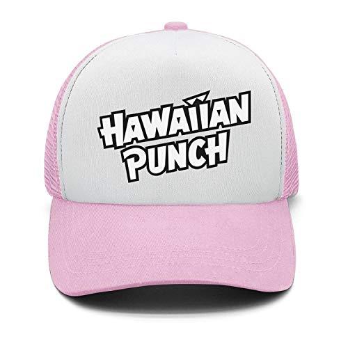 Men's Fashion Snapback Hats Hawaiian-Punch-Logo- Adjustable Sun Cap