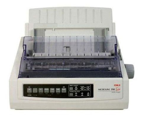 OKI62411901 - Microline 390 24-Pin Dot Matrix Turbo Printer