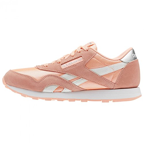 Silver Reebok Women's Nylon 4 Shoes Pink Fitness Digital Cl Multicolour White UK 000 1S14Zqf