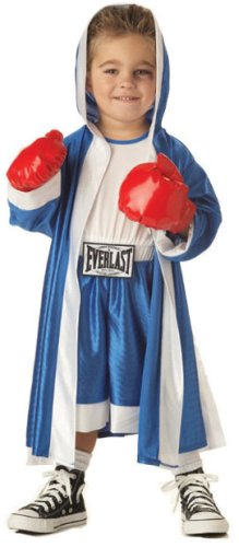 Baby Boxing Gloves Costume (Toddler Everlast Boxer Costume (Size:2-4T))