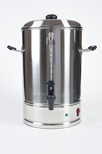 Sybo 10 Liters 60 Cups Stainless Steel Commercial Coffee Maker and Hot Water Heater Urn Pot, Perfect for Catering and Restaurants by Sybo International (Image #6)