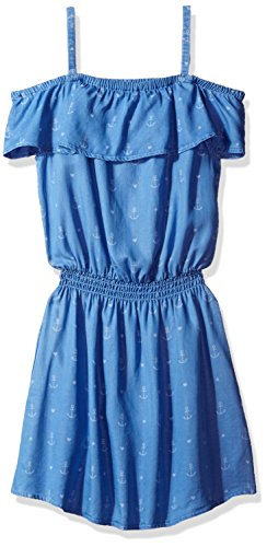 Jessica Simpson Big Girls' Dreama Off the Shoulder Dress,...