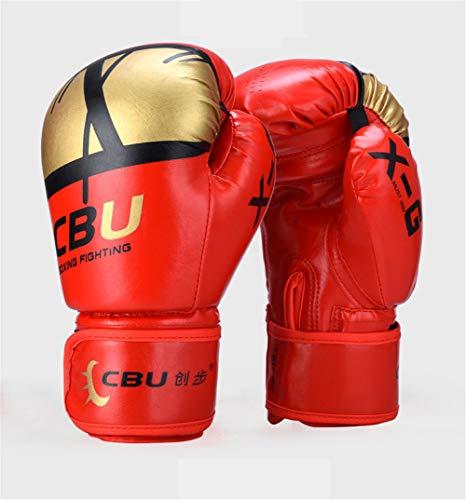 XJST Boxing Gloves 10Oz Adult Children Gloves Scattered Training Fight Muay Thai Fighting Free Fight Professional Sandbag Gloves,D