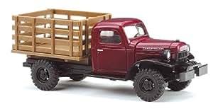 Busch 44001 Dodge Power - Camión de granja miniatura (escala 1:87)
